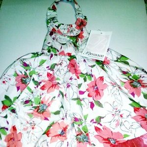 NWT Flowered Dress and Bloomers